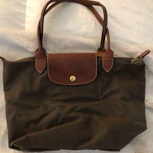 Longchamp Mini Tote Brown